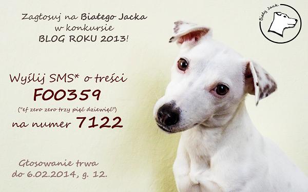 Biały Jack w konkursie BLOG ROKU 2013 – ZAGŁOSUJ!