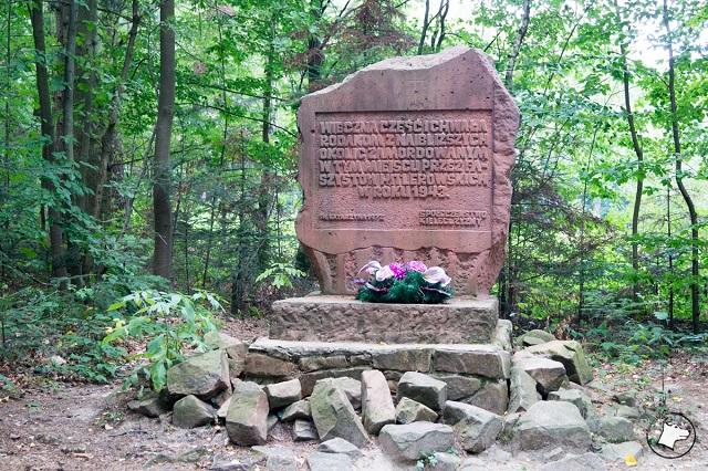 Łysica pomnik pamiątkowy