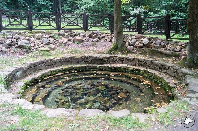 Łysica studnia św. Franciszka